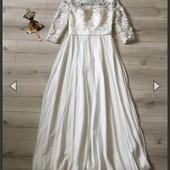 Свадебное платье unique 38p Новое