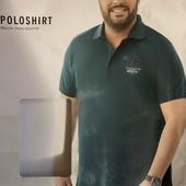 Стильная футболка Polo Livergy редкий размер 4XL