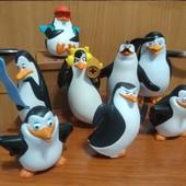 Игрушки - мультяшки. Набор пингвинов из Мадагаскара.