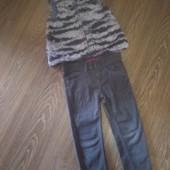 Детская жилетка искусств. мех, Wojcik 98рр, можно носить до 116см