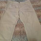 Фирменные легкие брюки размер 54-56