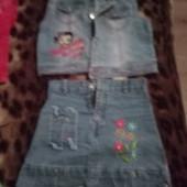 джинсовый костюмчик на модницу