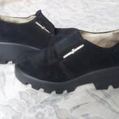 Крутецкие туфли на тракторной подошве)))