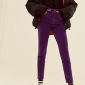 Последние в красивом фиолетовом цвете джинсы скинни М