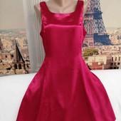 Атласное лёгкое платье, Classic Woman, размер L.