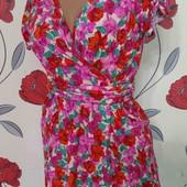 Люкс! Цветочное платье на запах ZARA