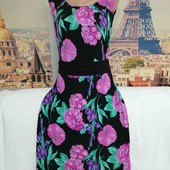 Платье в цветочный принт, Layra Ashley, размер L