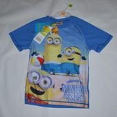 Пляжна футболка, захист від сонця 10р, 140см