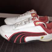 Белые кроссовки Puma, ориг. Индонезия, разм. 31,5 (20 см ст.) В идеале!
