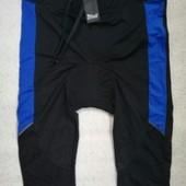 Велоштаны велошорты мужские Crivit р-р евро XL вело штаны шорты лосины