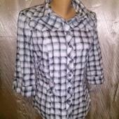 В идеале! Шикарная стрейчевая дорогая нарядная рубашка kg kurt geiger (ка-джи бай Курт Джейкер)