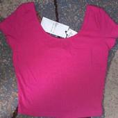 Яркая футболка-Топ.Bershka. Испания. Размер xs