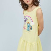 Платье Н&М 6-8 лет, серое