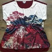 Очень красивая женская футболка, блуза Atlas for Women размер евро xxl (52/54)