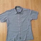 Рубашка брендовая летняя в клетку