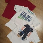 Три футболки одним лотом.