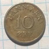Дания 10 эре 1950