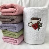 Махровое полотенце для рук 35*75см, лот 1шт, Турция