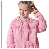 Новая ветровка для девочки 110