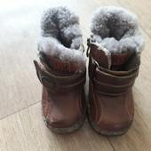 Сапоги, ботинки одним лотом (3 пары). Р 20, 21.