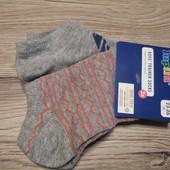Германия! Укороченные летние носочки на мальчика, 3 шт в лоте. Размер 23-26