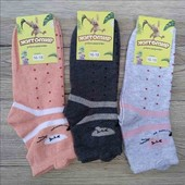 Дитячі шкарпетки з вушками - лот 3 пари різних кольорів