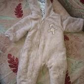 Комбинезон, розмір 6-9 месяцев 68 см, кигуруми, пижама, Mini