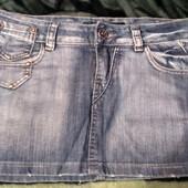 Джинсовая юбка очень класная 28 р
