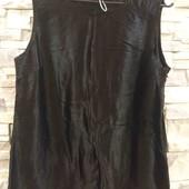 Esmara дизайнерская блуза атласная 40-42 М