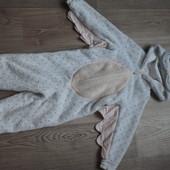 Мягусенький(плюшевый) слип/домашний костюм M&S 3-4года