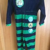 комбинезон, кигуруми, пижама, слип, 5-6 лет 116 см, Fire Sam. пожарник Сем