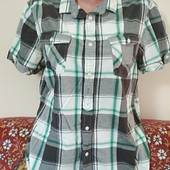 рубашка р.М котон