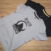 Распродажа Коттоновые футболочки на малыша! 98-104 см, 2 шт.