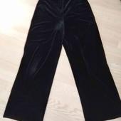 Широкие велюровые штаны Premium, UK 14