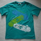 Новая футболка pitircik kids для парня р. 140-146