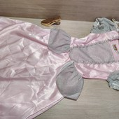 Германия!!! Очень нарядное карнавальное платье для девочки! 110/116, полномер!