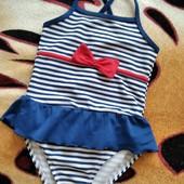 Симпатичный купальник для девочки 2-3 лет, замеры