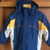 Куртка,деми, внутри флис, размер 5 лет 110 см, Campus. состояние отличноe