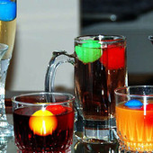 Многоразовый лёд для охлаждения напитков /3 шт./