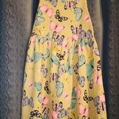 Платье-сарафан в идеальном состоянии р.98/104