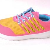 Стильные детские кроссовки для девочек. фирма LOD.