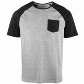 Котоновая футболка с карманом Livergy 52 /54