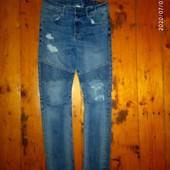 Крутезні стильні джинси 152-158 см мягесенькі удобненькі стан супер)