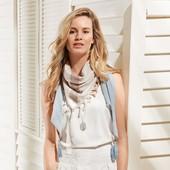 ☘ Стильный шарф в пастельных тонах от Tchibo (Германия), размер: 130 х 90 см