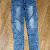 Брендовые летние джинсы Emma Girl для девочки 12 лет