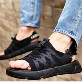 Цена опта! Функциональные сандали мужские/подростковые на липучках! 40,42.