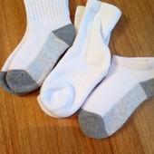 США Лот 3 пары носки ( махра , уплотненная стопа) размер 22-25