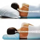 Ортопедическая подушка с наволочкой 48*29 см