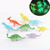 Флуоресцентные динозавры! Фигурки светящихся рептилий. Лот 1 шт. на выбор!!!