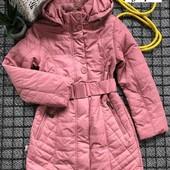 Шикарная куртка на флисе. 140-158